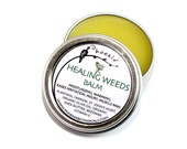 Healing Weeds Balm - organic - herbal remedy and moisturizing salve 1/2 oz tin
