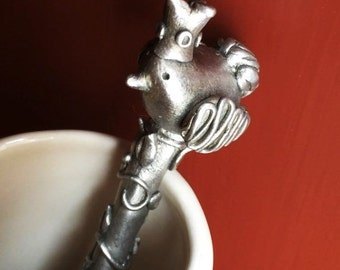 Pewter Bird Spoon 'Renn'