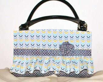 Ruffles and Polka Dots Magnetic Bag Shell Cover