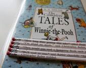 Winnie the Pooh Wrapped Pencil Set