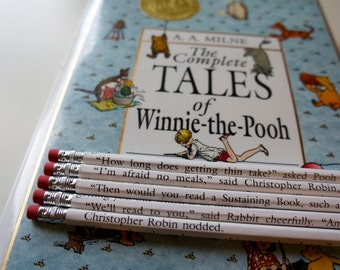Winnie the Pooh Wrapped Pencil Set