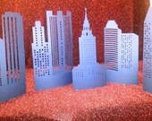 DIY create a city tablescapes set of five
