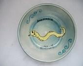 RESERVED SVETLANA- Custom Snake Bowl