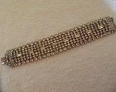 Vintage Imitation Diamond Bracelet