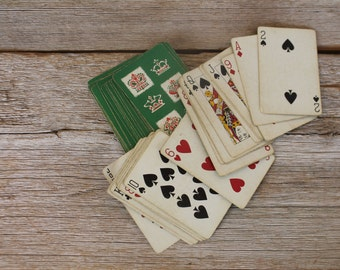 Vintage Canasta Game, Blackstone Playing Cards