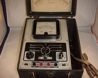 Vintage AC DC Utility Tester Test Equipment