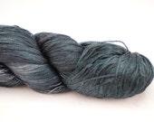Silk Lace- 100% Silk  - Storm