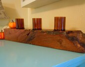 Gnarly Rustic Mesquite Candle Holder
