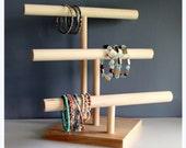 Dog Collar Rack, Craft Show Display, Watch Organizer & Bracelet Stand, Soft HeadBand Girl's Hair Bow Holder, Storage Rack, Custom Colors