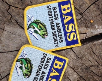 Vintage Bass Anglers Sportsman Society Patches