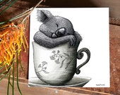 Tea Cozy Koala 2 - ECO Limited Edition Fine Art Print