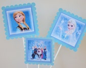 NEW frozen movie 6 Piece Centerpiece