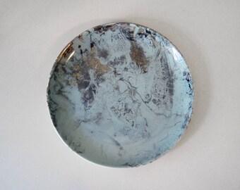 SURF BALLET Sascha Brastoff SALAD Plate California Pottery