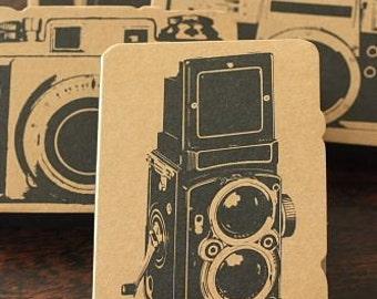 Camera Paper Pad-Kraft Paper Notebook-Film- Camera-Scrapbooking Embellishment-Film Strip Paper-
