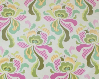 """LAMINATED Cotton  - Fresh Cut Groovy Olive, 56"""" Wide, BPA & PVC Free"""