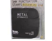 Punctuation Set-1/8 in 9 Pieces with Canvas Pouch for Storage -Metal Stamp Set-Great Inexpensive Tool for Your Shop and Stamping Needs