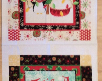 A Wonderful Holiday Of Dreams Its A Wonderful Life Cotton Fabric Fabric Panel Free US Shipping