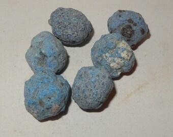 "Large Azurite ""Blueberries"" Balls"