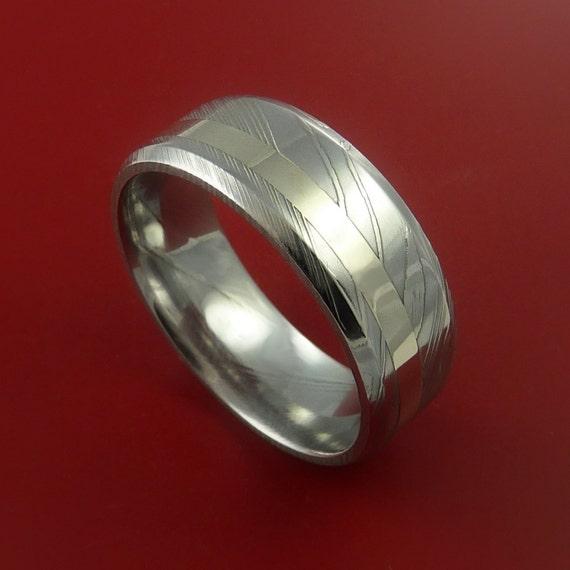 28 latest damascus steel wedding bands damascus steel 14k w