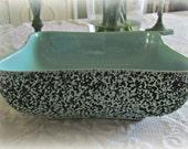 SALE!!!! Vintage Retro Blue Planter Kenwood