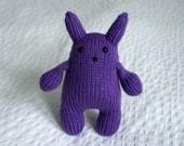 Purple Squishy Bunny