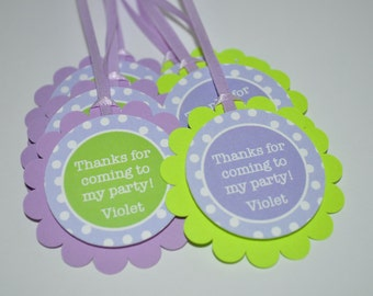 Party favor tags | Etsy