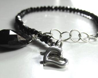 Spinel in Sterling Silver Bracelet
