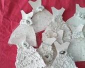 Romantik embellishment (wedding dresses) six pack