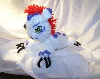 Crochet Digimon Gomamon