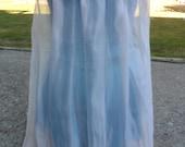 Detachable white cape for Princess Anna dress or leotard