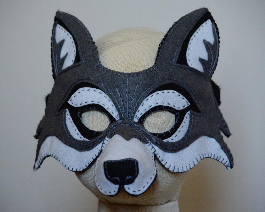 Wolf Mask PDF Pattern Raccoon Eye Mask