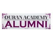 Ouran Host Club Anime Bumper Sticker - Ouran Academy Alumni