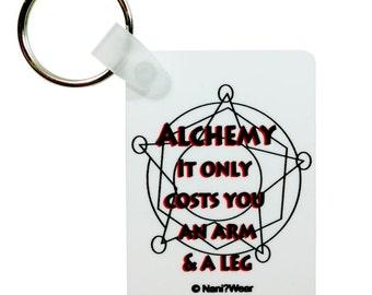 Fullmetal Alchemist Keychain: Alchemy Only Costs You an Arm and a Leg