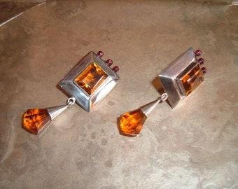 Stirling silver earrings