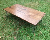 Coffee Table Wood Table Rustic Wood Reclaimed Wood