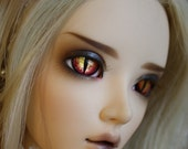 BJD eyes Doll eyes Hand made available in 12/14/16/18/20/22/24mm Hungarian Horntail made to order