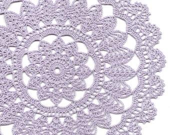 Crochet doily lace doily table decoration crocheted by - Set de table crochet ...
