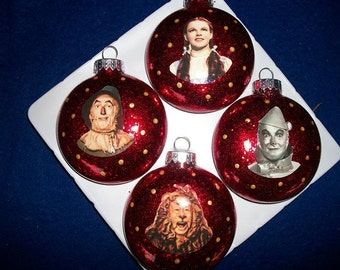Ornaments - The Wizard Of Oz Inspired