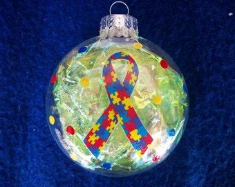 Autism ornaments | Etsy
