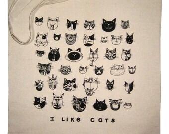 CATS Market Tote Bag