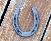 Horseshoe, Horse Shoe, Cast Iron Pony Shoe, Rustic Home Decor, Western Home Decor, Farmhouse Decor, Cowboy Room, Horse Room Decor, Crafts