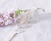 Silver Leaf Headband
