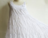 D23, White Maternity Summer Spring Cotton Dress