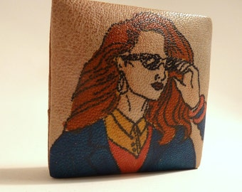 Emily Ann Small Coin Pouch Tote Purse 1980s