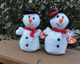 Snowball the snow man Beanie