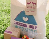 40 Custom Wedding Tote Bags - Eco-Friendly Natural Cotton Canvas