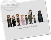 Pixel People - Game of Thrones - House Stark