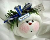 1st Hanukkah Ornament Present Jewish Star Townsend Custom Handmade Name/Year Tag Option Sample