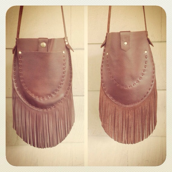 Leather fringe bag, boho bags leather, fringe purse leather, hippie bag, unique artisan bag, festival purse, cowgirl purse, boho purses AlisoBay. 5 out of 5 stars Whiskey Leather Crossbody bag with fringe Brown leather shoulder bag Handmade Leather Purse Red Leather Handbag Gift for women MixaBag. 5 out of 5 stars.