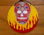 Flaming Skull Key Rack...